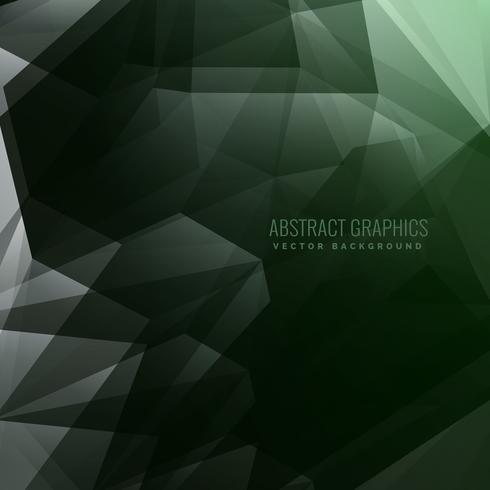 abstract dark 3d depth background