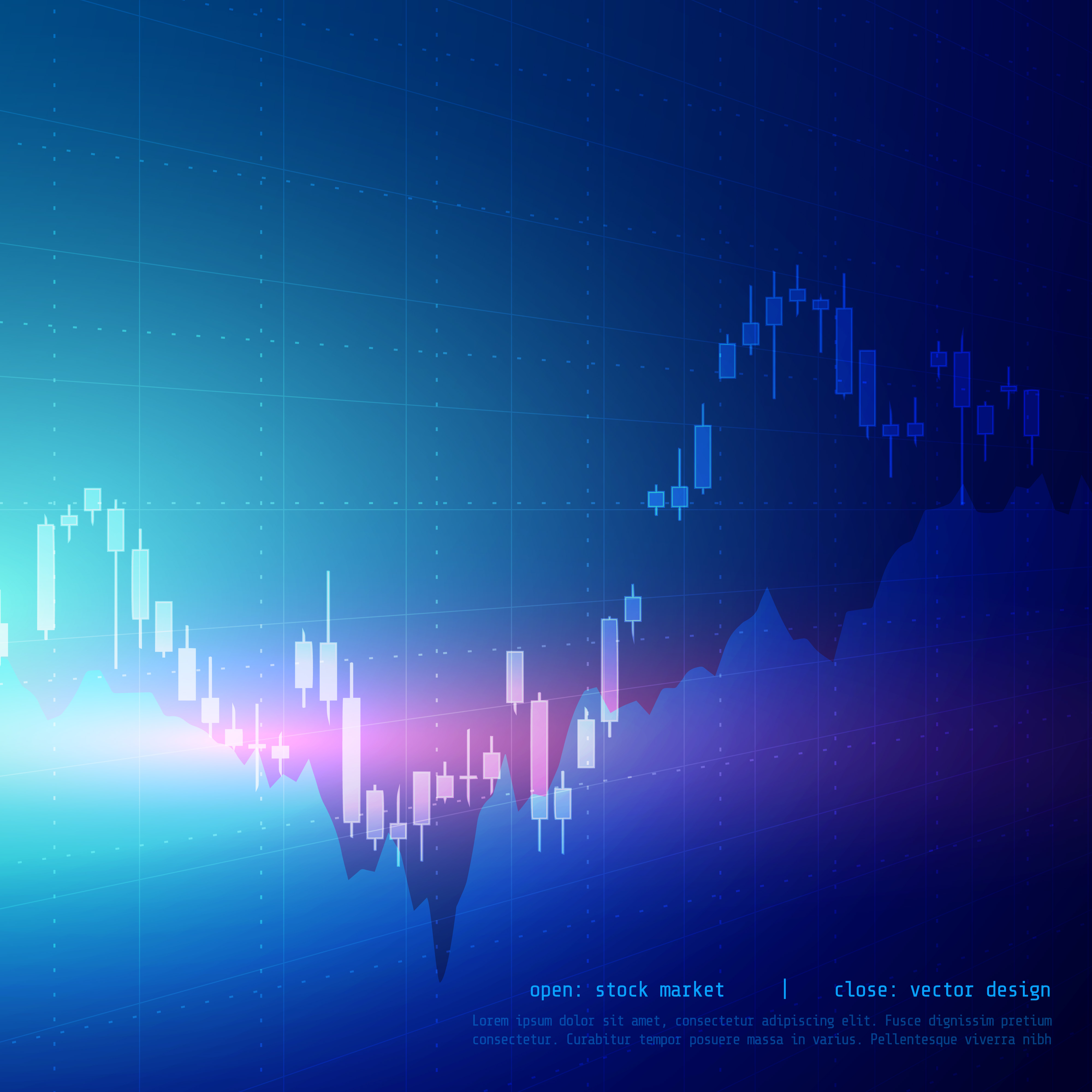 stock market graph free vector art 7079 free downloads