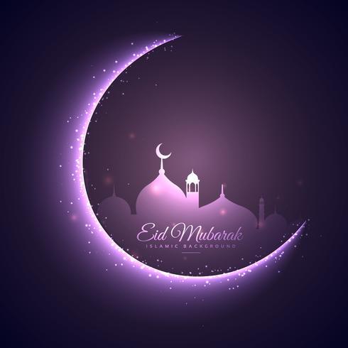 eid mubarak festival bakgrund