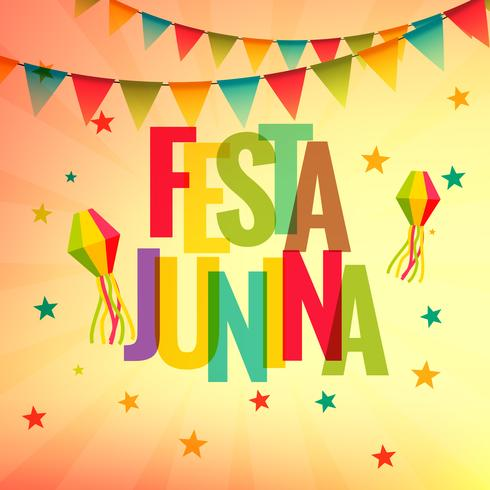 festa junina celebration party background
