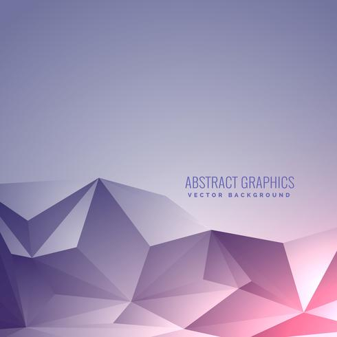 beautiful low poly minimal background with elegant lighting