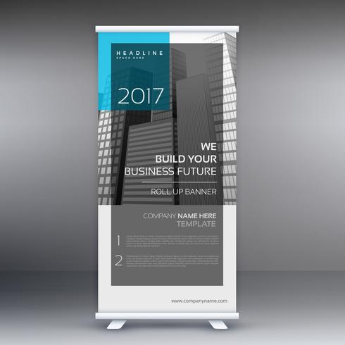 business roll up banner presentation template