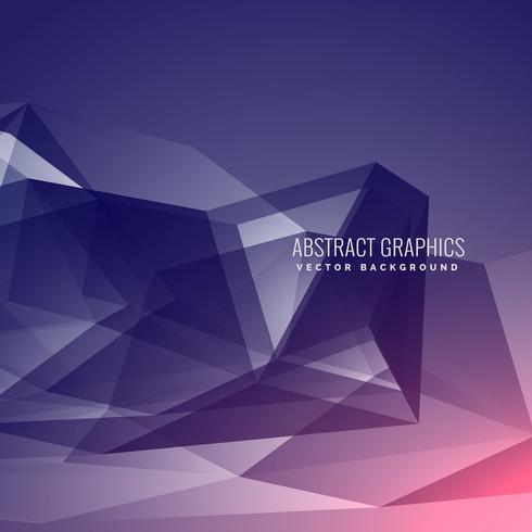 modern futuristic abstract background made with low poly
