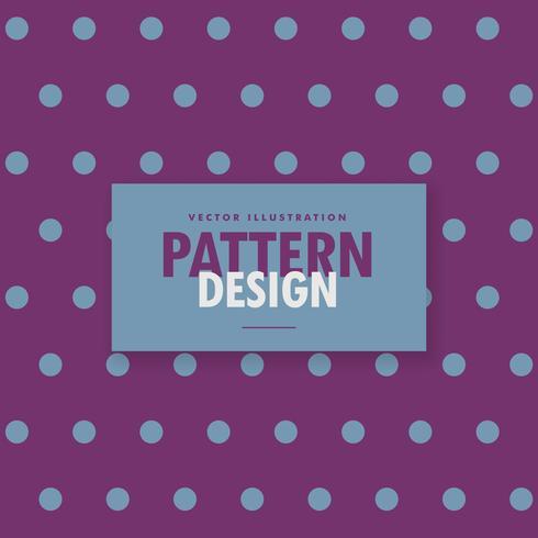 stylish polka purple background design