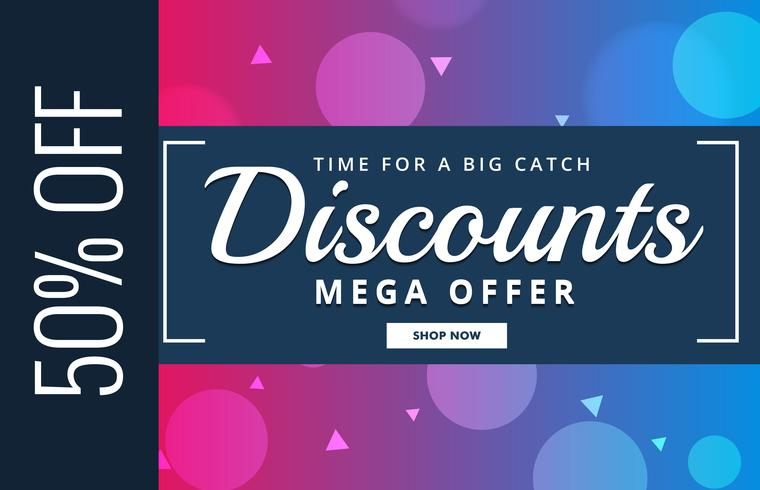 discount voucher design with offer details