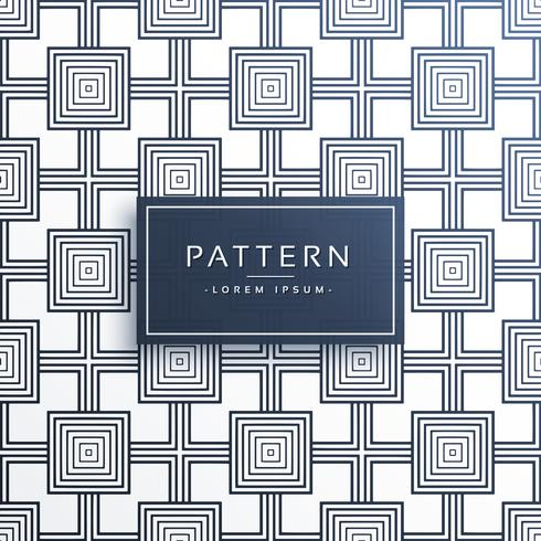 geometric square style modern pattern design