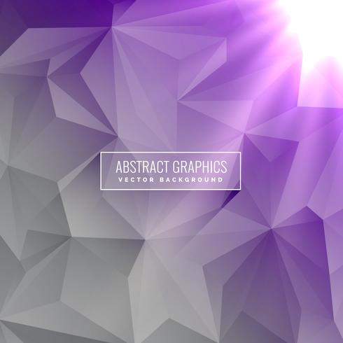 elegant gray and purple background with geometric shapes