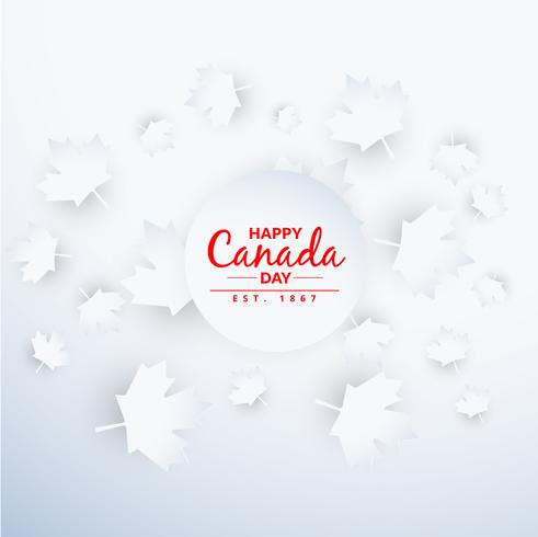 beautiful canada day background
