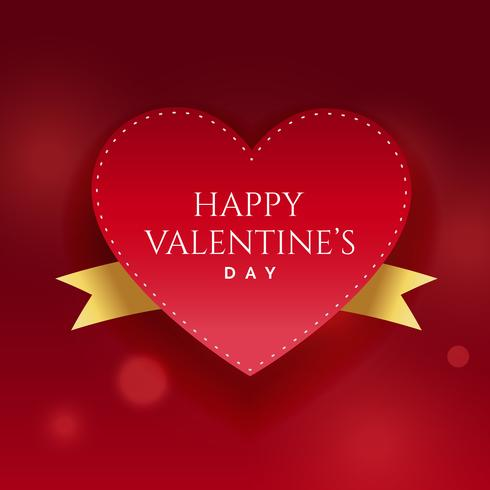 happy valentine's day beautiful background design