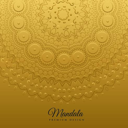 ethnic mandala art decoration background