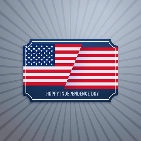 american independence day badge
