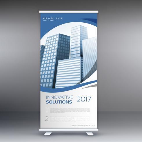 arregaçar o modelo de banner com edifícios