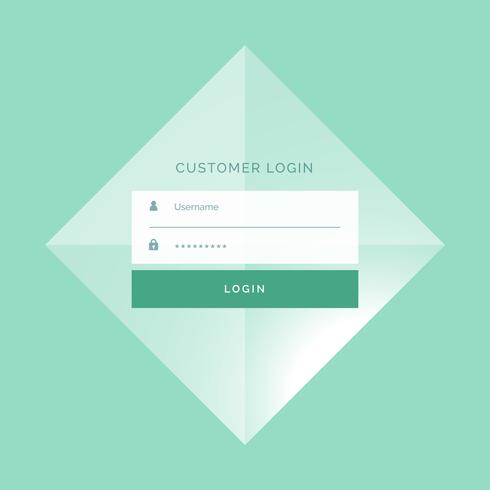 awesome login form template design background download free vector