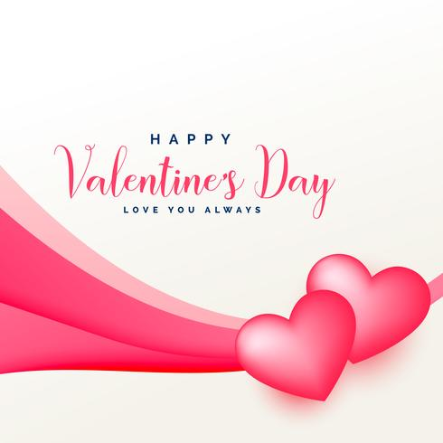 awesome pink valentine's day love background