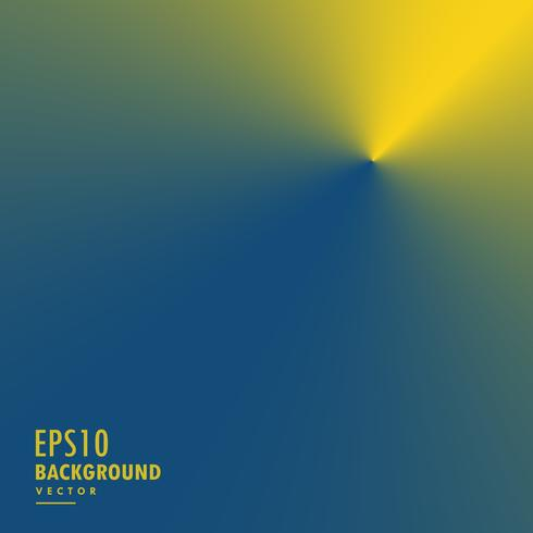 abstract yellow and blue conical gradient background
