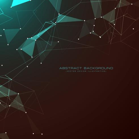 amazing abstract technology style dark background