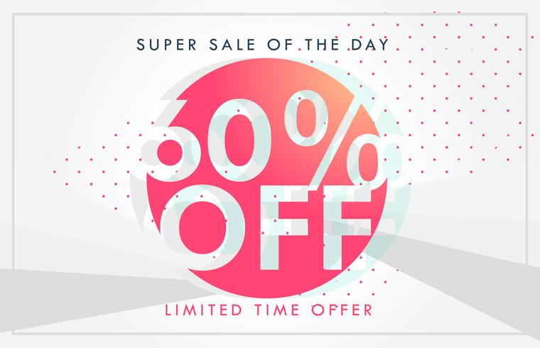 discount sale and deals banner or voucher template design