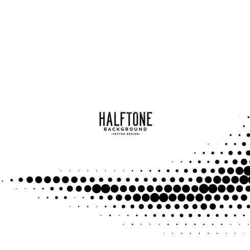 minimal wavy dots halftone background