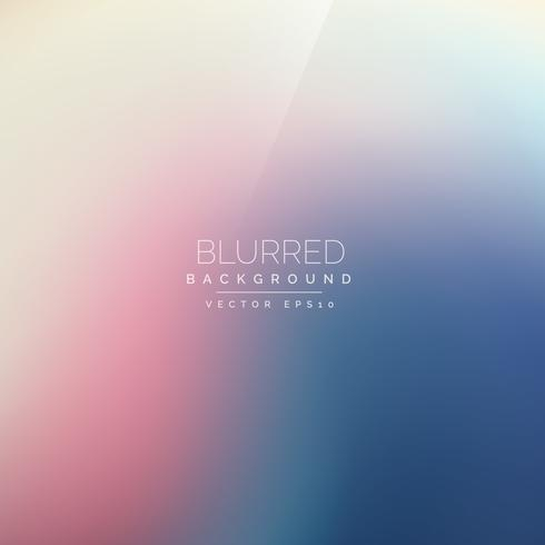 colorful vector blurred background