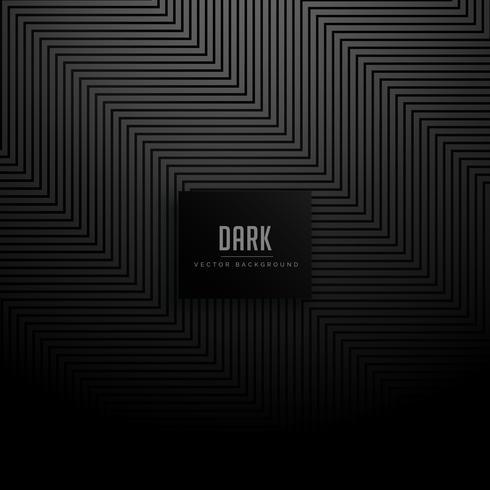 Zick-Zack-Diagonale zeichnet dunklen dunklen Hintergrund des Musters