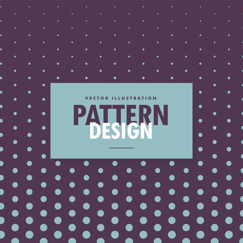 dots pattern design on purple background