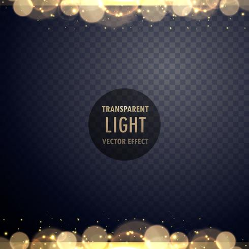 abstract golden bokeh light effect with sparkles