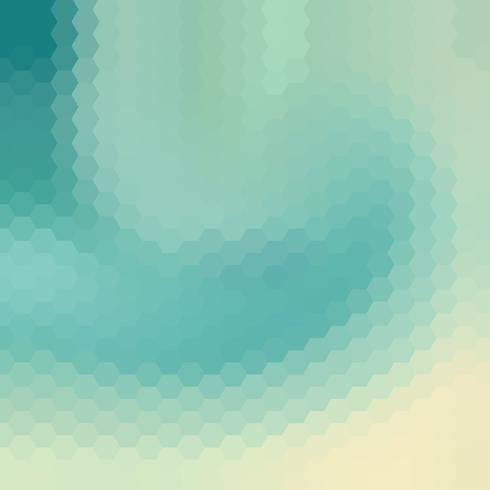 sky blue swirl polygonal background