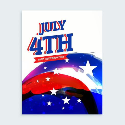 Th Of July Independence Day Flyer  Download Free Vector Art Stock