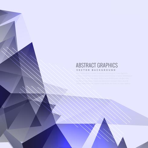 abstract purple triangles background design