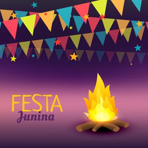 festa junina celebration illustration