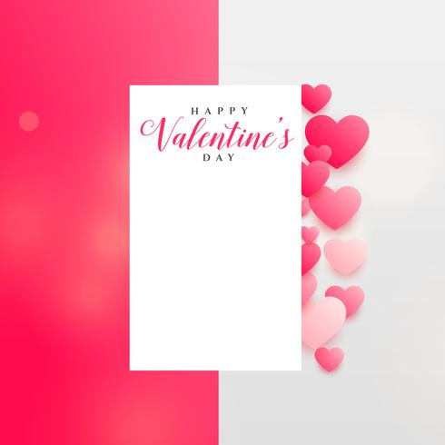 cute valentine's day background design