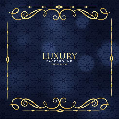 luxury invitation floral premium background Download Free Vector
