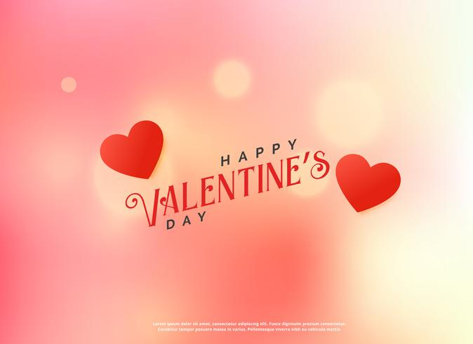 love valentine's day beautiful background design