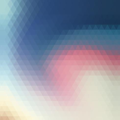 colorful trianglular swirl background