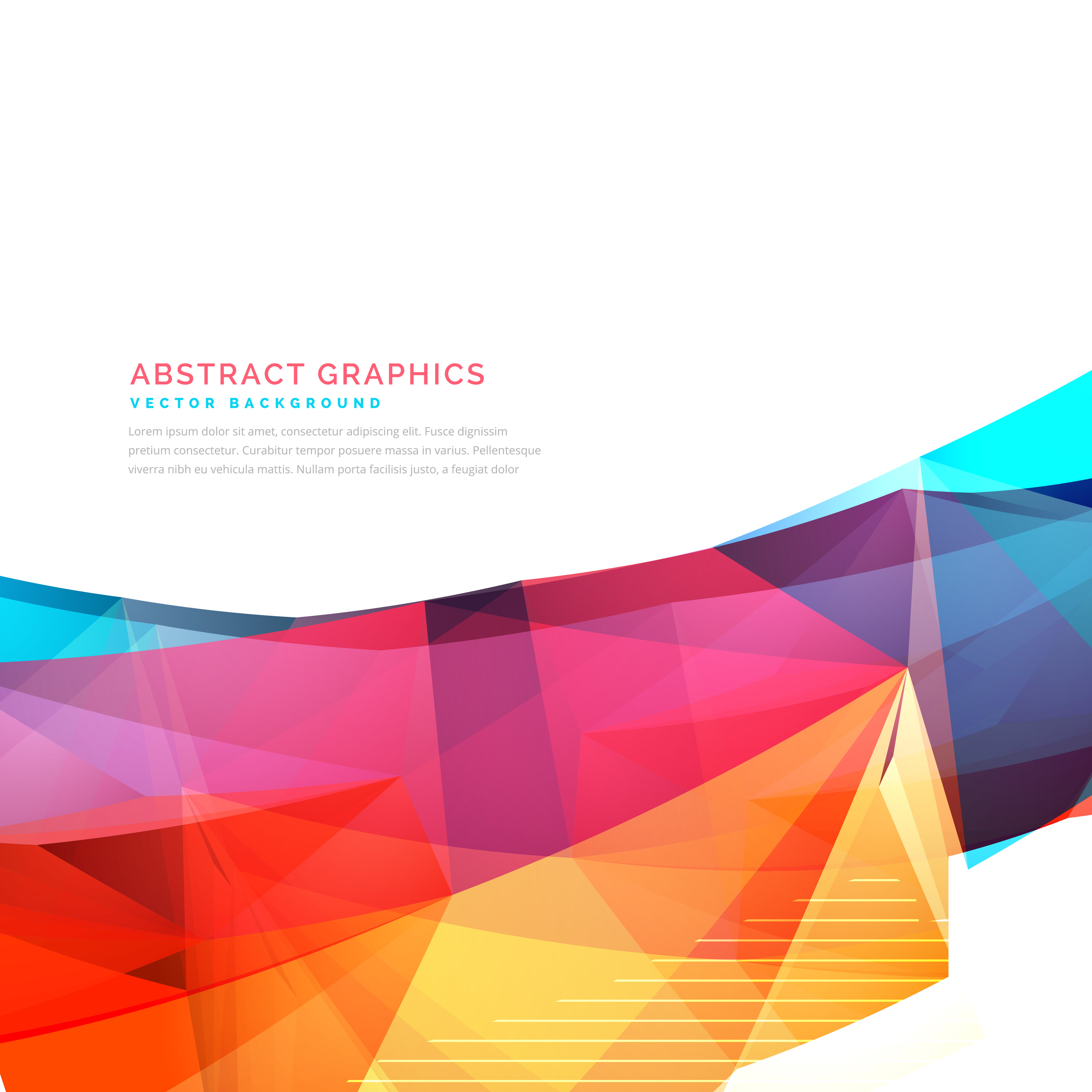 Color Graphic Design: Colorful Abstract Background Design