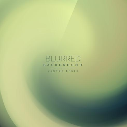 abstract green blurred swirl background