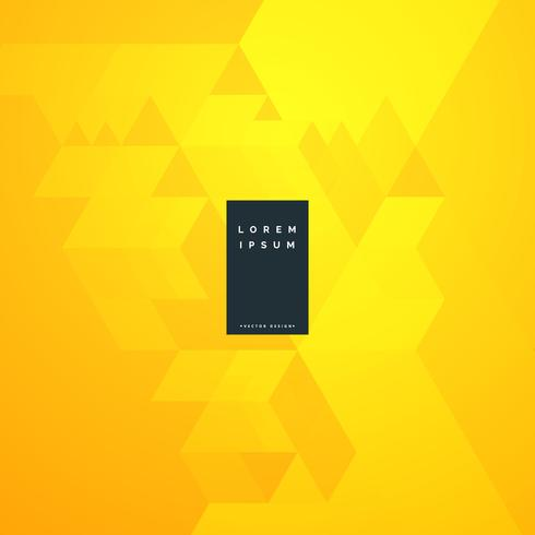 yellow abstract minimal background design