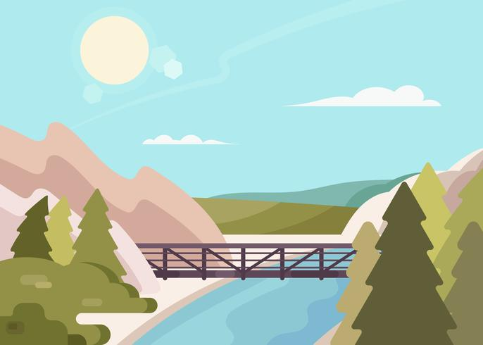 Eldorado Canyon State Park Illustration