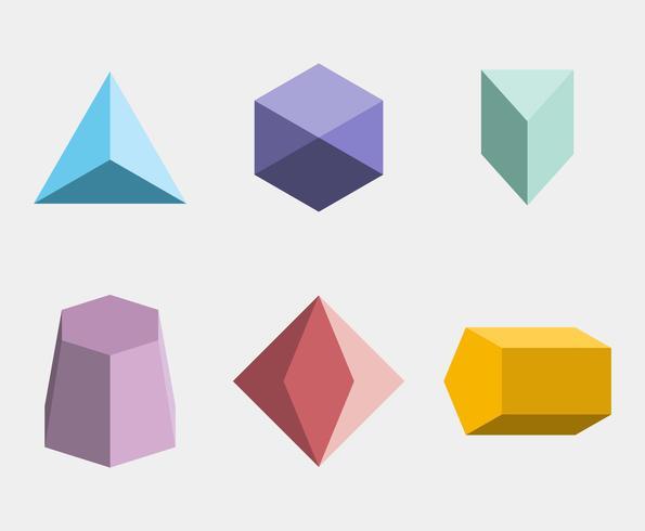 Geometrische Formen Vektor