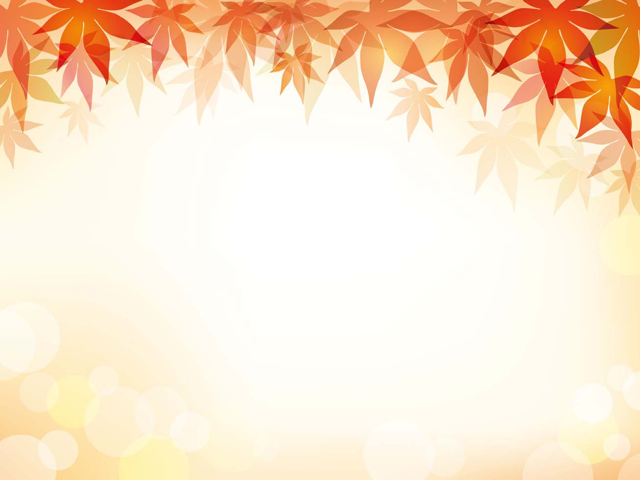 A Maple Leaf Frame With Text Space Download Free