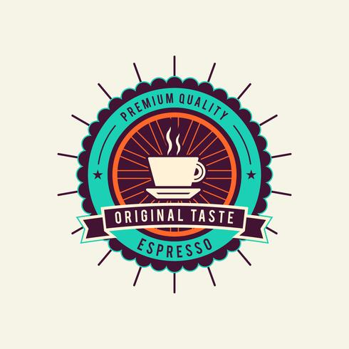 Unique Coffee Badge Vectors