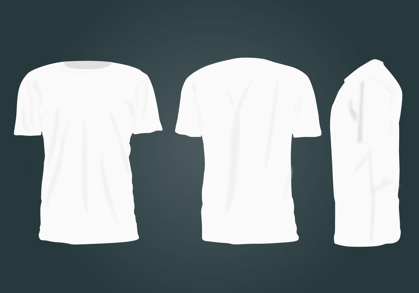 blank tshirt template vector download free vector art