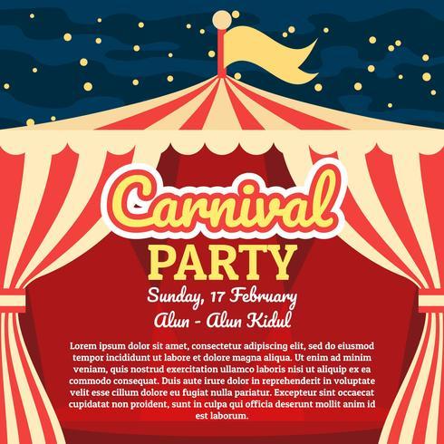 Affiche de carnaval