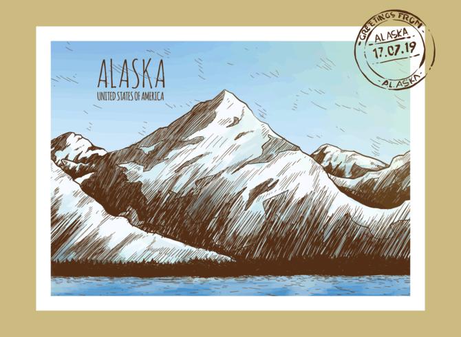 Ansichtkaarten uit Alaska