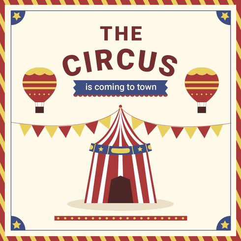Circus Carnival Festive Poster