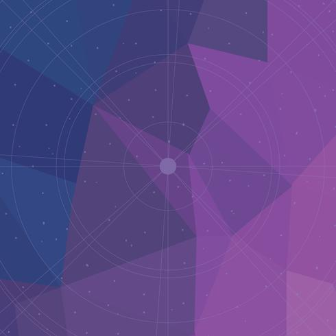 Geometric Violet Background