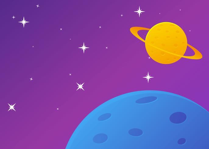 Vetores de fundo galáctico Ultra Violet excepcional