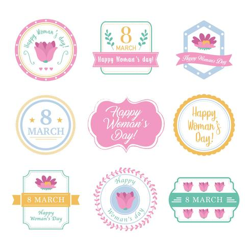 badges for woman's day