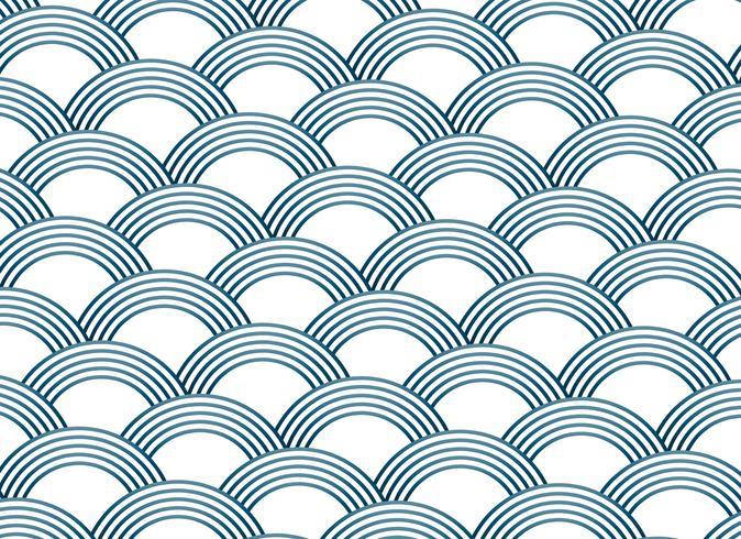 padrão de vetor de estilo abstrato sashiko