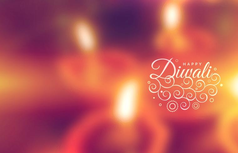beautiful happy diwali greeting wallpaper
